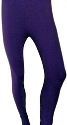 Stretchable Plain Ladies Cotton Lycra Leggings