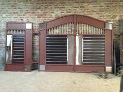 Wooden And Steel Gates Steel Gate Manufacturer From Jalandhar