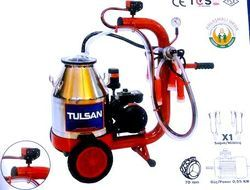 Trolley Model Milking Machine Mini Type Single Bucket