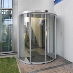 Beau Automatic Curved Door