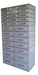 Bank Lockers with Removable Units