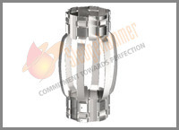 Hinged Non-Welded Stainless Steel Centralizer