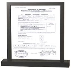 EMN Certificate