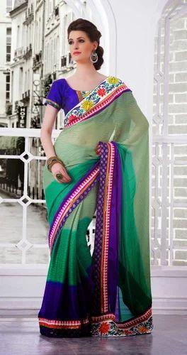 Fancy Women Latest Designer Saree
