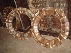 Recycle Wood Mirror Frame