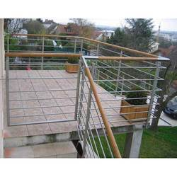 Stainless Steel Balcony Railing at Best Price in India