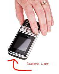 One Touch Cell Phone Hidden Camera Video Recorder