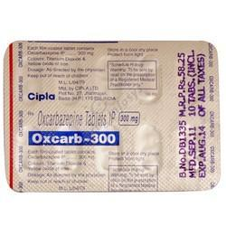 Oxcarb 300mg Tablets