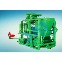 Hydraulically Operated Concrete Block Making Machine