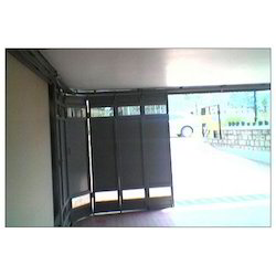 6000 X 6000 Mm Mild Steel Side Rolling Multipanel Shutters, Dimension/Size: Aluminium