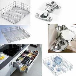 Modular Kitchen Set Up
