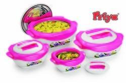 Fluidic Hot Pot Set Of 4 Pcs