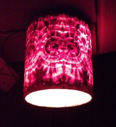 Cylindrical Hanging Light