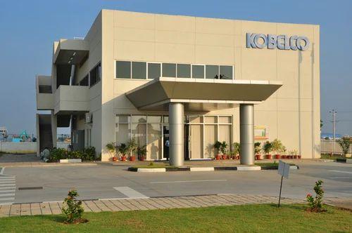 Kobelco Cranes India Factory Phase I in Ra Puram, Bengaluru, Shimizu