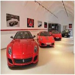 Workshop for luxury cars