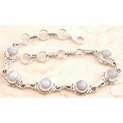 Magnificent Blue Lace Agate Bracelet