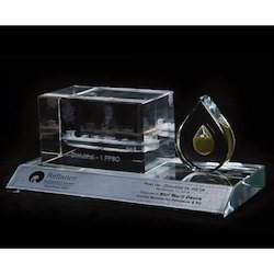 Promotional Crystal Trophy