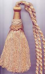 Smooth Tassel Tieback