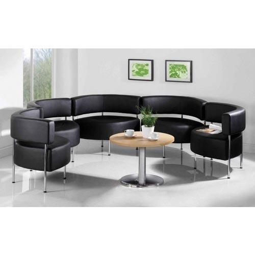 office sofa set. Rounded Office Sofa Set
