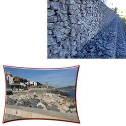 PVC Coated Gabion Box for Coastal Protection