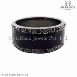 Macrame Band Ring