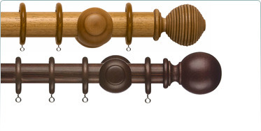 Wood Curtain Rod At Rs 350 Feet