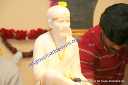 Sai Ram Marble Statue