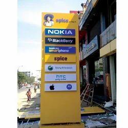 Pole Signage