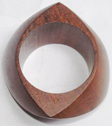 Cofee Colour Wooden Napkin Ring