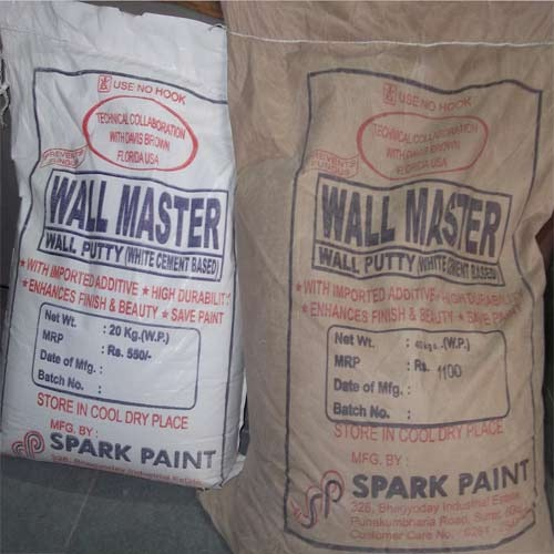 Wall Putty Wall Master Wall Putty Manufacturer From Surat