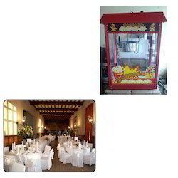 Popcorn Machine for Wedding Halls