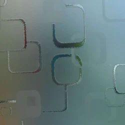 Washroom Etching Glass