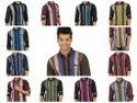 Designer Shirt Cotton (linen Look) Shirt