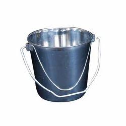 Stainless Steel Steel Round Bucket