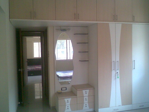 Wooden Dressing Wardrobe Rs 45000 Number Penabu Modular Systems