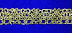 Golden Embroidered Borders