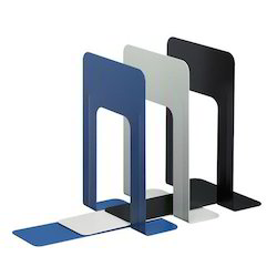 Metal Powder Coated SDI 1724 Book Ends, For Office, Size: 0.92 Feet