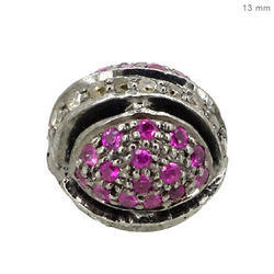 diamond ruby bead sapcer
