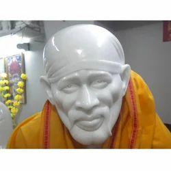 Sai Baba White Statue