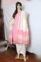 Cotton Jari Pochampalli Border Dress