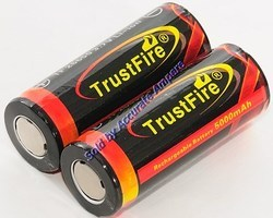 Trustfire Tf26650 Battery 3.7v 5000 MAH Lithium Ion Battery