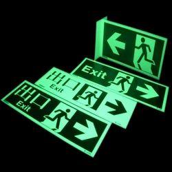 Photoluminescent Signage