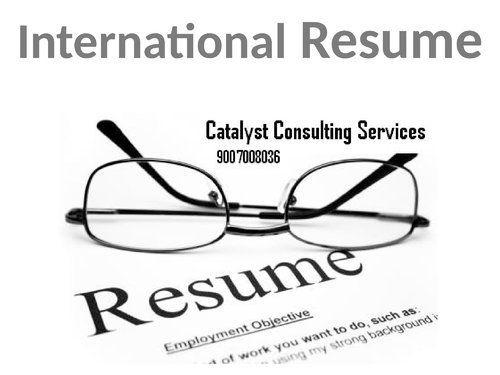 International cv writing service