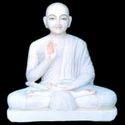 White Jain Statue