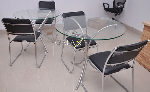stainless steel furniture designs. Stainless Steel Glass Table Furniture Designs
