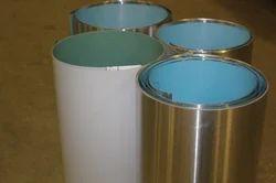 Aluminium polysurlyn coated coil