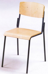 Standard Trends Teacher School Wooden Seat and Back Student Chair