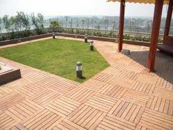 Lumber Ipe Deck Flooring Service, in Pan India, Thickness: 12MM