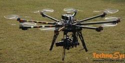 Octocopter For DSLR Cameras Like Canon 5d And Nikon 800e