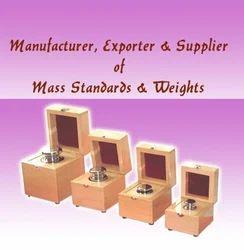 Mass & Standard Weights